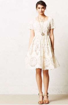 NWT Anthropologie Plenty by TRACY REESE Stella Full Skirt Lace dress 10 SOLD OUT #TracyReese #FitFlare #Cocktail #Anthropologie #TracyReese #lacedress #soldout #springdress #summerdress #trend2017