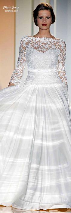 Miquel Suay: Barcelona Bridal Week Spring 2015