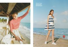 The Life Aquatic (Teen Vogue) Matteo Montanari, Life Aquatic, Teen Vogue, Panama Hat, High Fashion, Editorial, Cover Up, Short Sleeve Dresses, Lifestyle