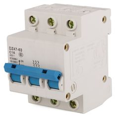 MustMax(TM) 3P MCB Miniature Circuit Breaker Fuse Type C 16Amp 400V 3 Pole C16 BI139  * To view further for this item, visit the image link.