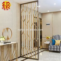 Stainless Steel Rose Gold Wall Art Hanging Screens Fashionable Room Divider Living Room Partition , Find Complete Details about Stainless … House Design, Wall Design, Room Interior Design, Partition Screen, Trendy Living Rooms, Room Divider Walls, Room Design, Metal Screen, Living Room Partition