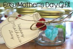 Fun and inexpensive MOTHER'S DAY gift your students can make.
