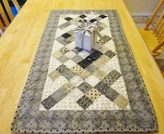Modern Tradition Quilts: Moda Bake Shop: Candy Squares Table Runner