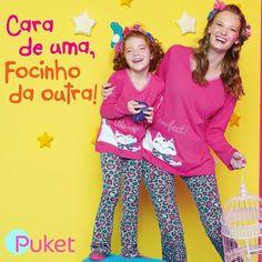 Pijamas mae e filha!