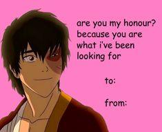 Zuko valentine's day meme | Avatar: The Last Airbender