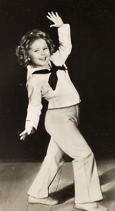 Captain January, 1936. My sister and I used to watch old Shirley Temple movies in the afternoon. We thought she was perfect.