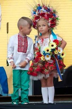 Love the Ukraine Women's clothing but the men, not so cool, and the haircut and mustache, not so attractive