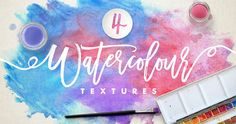 These hand-made watercolour textures are perfect for adding a splash of colour and authenticity to your work! The pack includes 4 flattened . Web Design, Watercolor Texture, Watercolour, Set Sail, Textured Background, Color Splash, Design Projects, Sailing, Banner