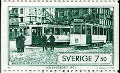 Tranvías de Helsingborg 1921, Suecia