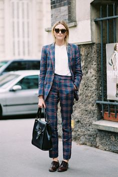 Here's A Whole Bunch Of Super Cool Girls Who Will Make You Want To Suit Up (via @TheDebrief) #streetstyle