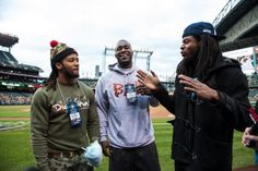 """Photo Gallery: Legion of Boom joins Seattle Mariners """"Supreme Court """" Seattle Sounders, Seattle Mariners, Seattle Seahawks, Seattle Mist, Earl Thomas, Richard Sherman, Ken Griffey, 12th Man, Football Players"""