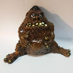 MONSTER ART RESIN FIGURE WEIRD SCIENCE CHET CUSTOM FIGURE HAND PAINTED SCHERES  #SCHERES