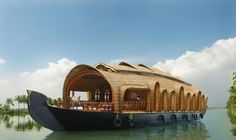 The Houseboats of Kerala in India