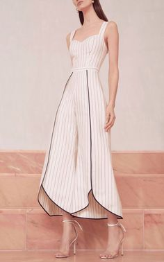 Edaline Cropped Jumpsuit by Alexis