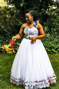 African Print Wedding Dress, African Print Dress Designs, African Wedding Attire, Long Dress Fashion, Latest African Fashion Dresses, African Print Fashion, Zulu Traditional Wedding Dresses, Traditional African Clothing, Pedi Traditional Attire
