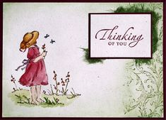 Thinking of You by GermanStampingAddict - Cards and Paper Crafts at Splitcoaststampers