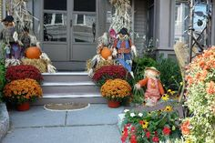 Fall door steps