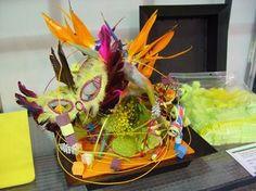 Gebruikt Oasis- Rainbow®Mini Cubes HARLEQUINenOASIS® Rainbow ® Foam Mini Cubesen Oasis Rainbow Foam blok