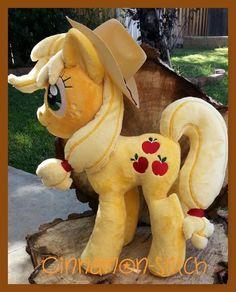 My Little Pony Friendship is Magic Applejack Plush with hat FiM Handmade