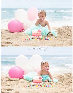 1st Birthday ~ Smash the Cake Amy Morris Photography