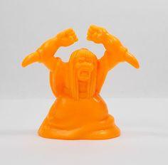 Monster In My Pocket - Series 2 - 63 Elbow Witch - Neon Orange - Mini Figure