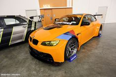 BMW M3 Gorgeous BEAST of a car ..... Don't think I would want that color on my daily driver, but man it's hot!