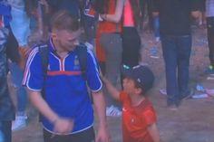 VIDÉO - Après la défaite des Bleus contre le Portugal en finale, ce supporter français était totalement désemparé.