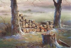 Jerry Yarnell The Inspiration of Painting #8999 CHOPPING BLOCK dvd ...