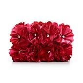 Sasha Handbag, Satin Petal Minaudiere Evening Clutch Satin, Clutch, Favorite Things, Handbags, Accessories, Fashion, Moda, Totes, Fashion Styles
