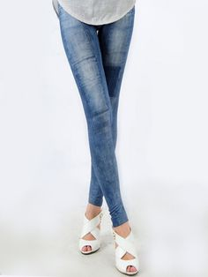 Buy Attractive Patches Printed Leggings online with cheap prices and discover fashion Leggings at Fashionmia.com.