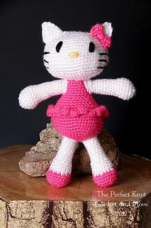 Ravelry: Itty Bitty Kitty pattern by The Perfect Knot - Michelle Kovach