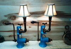 These lamps for healing are a remarkable supplement to your home office Primitive Lighting, Rustic Lighting, Industrial Lighting, Farmhouse Lamps, Nightstand Lamp, Steampunk Lamp, Room Lamp, Pipe Lamp, Antique Lamps