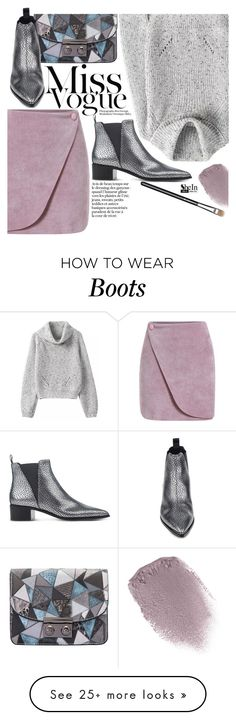 """""""Miss Vogue"""" by pokadoll on Polyvore featuring Obsessive Compulsive Cosmetics, MAC Cosmetics, Acne Studios, Sheinside and shein"""