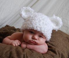 Gorritos para bebés con orejas - Imagui