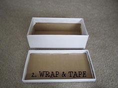Shoebox Crafts : { DIY } Designer Shoe Box Decor