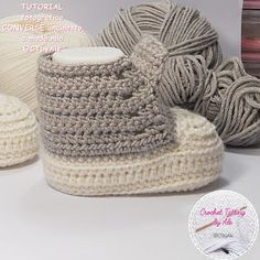 Scarpine tipo CONVERSE uncinetto per neonati Baby Shoes Pattern, Shoe Pattern, Manta Crochet, Crochet Baby Shoes, Baby Booties, Sewing, Kids, Crafts, Lana