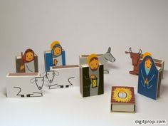 Build an entire Nativity using matchboxes and have it double as an Advent calendar.  Find out more at Digit Prop.