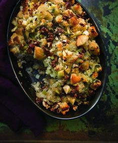 This recipe is from Farmhouse Rules: Simple, Seasonal Meals for the Whole Family by Nancy Fuller (Grand Central Life & Style), who hosts Farmhouse Rules on the Food Network. Try making the recipe at home and let us know what you think! Photograph by Jamie Prescott By Nancy Fuller Holiday Stuffing with