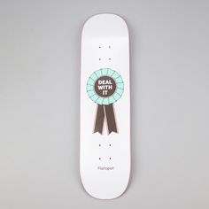 Flatspot x Matt Blease Rosette Deck, one of three decks created in collaboration with artist Matt Blease.The first Flatspot deck series of 2016,...