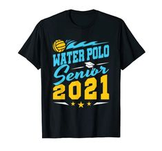 Water Polo, Branded T Shirts, Solid Colors, Heather Grey, High School, Mens Tops, College, Cold, Sleeve
