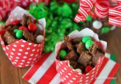 Chocolate Mint Chex Mix - Love From The Oven