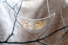 Artist Preserves The Beauty Of Nature In Pressed Glass Jewelry | Bored Panda
