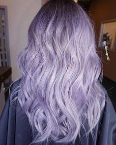 Lila Haarfarbe