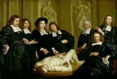 Anatomy Lesson by Dr. F. Ruysch by Adriaen Backer