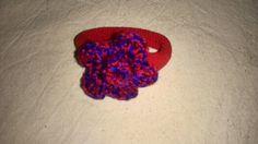 Gomilla con flor hecha por mi