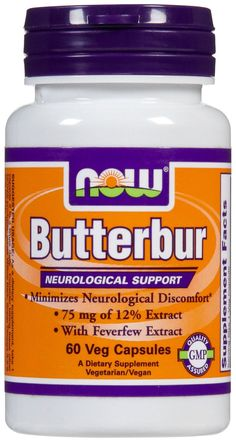 Butterbur - can help allergies and migraines