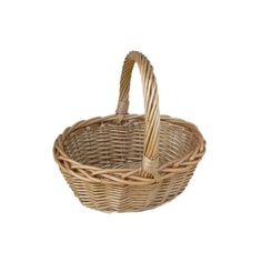 Woven Basket ❤ liked on Polyvore featuring home, home decor, small item storage, felelolie, basket, medieval, weave basket, medieval home decor and woven basket