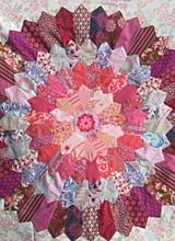 Pam just finished this Bloom Quilt top!  She is going to be teaching a class starting February 5, This one is a knock out!    Alewives Fabrics: Patterns & Books