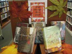 book displays | Fall book display | Library