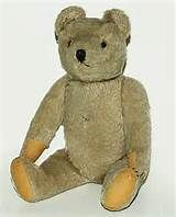 Early Antique Steiff Bear with FF underscore button